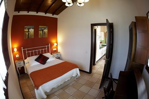 Casa Cuélebre dormitorio.