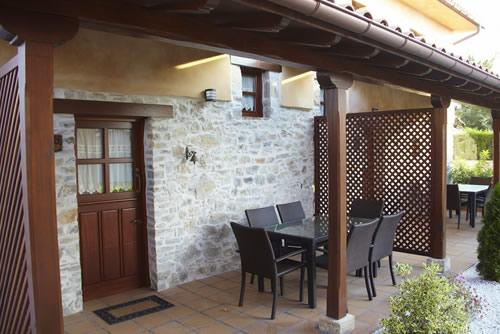 Casa Trasgu terraza-porche.