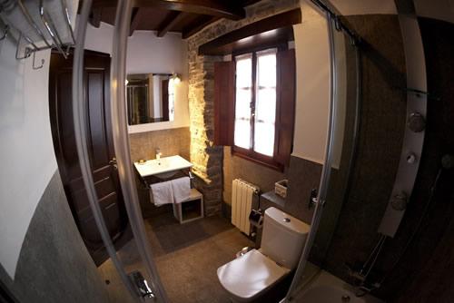 Casa Trasgu baño.