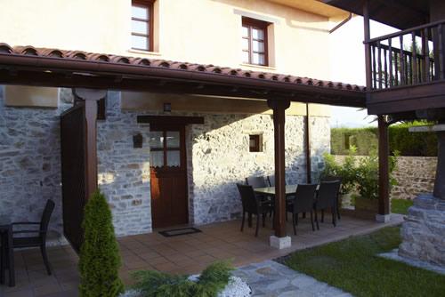 Casa Xana terraza-porche.