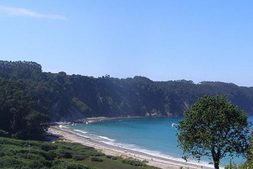 Playa de la Concha de Artedo.